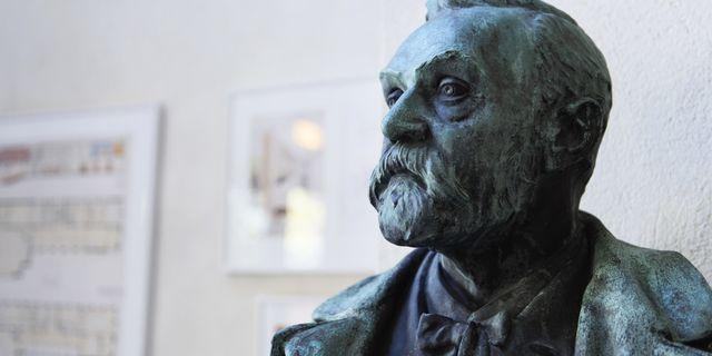 Alfred Nobel såg sig som uppfinnare, skriver debattören Foto: Stina Stjernkvist/TT