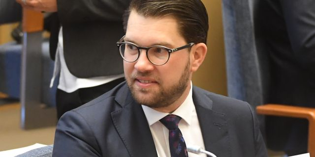 Jimmie Åkesson.  Fredrik Sandberg/TT / TT NYHETSBYRÅN