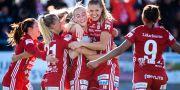 Piteåjubel efter 1–0. SIMON ELIASSON / BILDBYRÅN