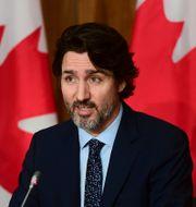 Justin Trudeau/Arkivbild Sean Kilpatrick / TT NYHETSBYRÅN