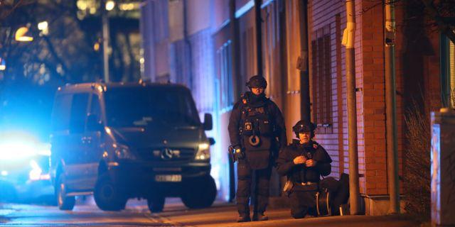 Nationella bombskyddet Adam Ihse/TT / TT NYHETSBYRÅN