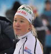 En besviken Jonna Sundling efter finalen alla Svenskor ramlade i backe.  Fredrik Sandberg/TT / TT NYHETSBYRÅN