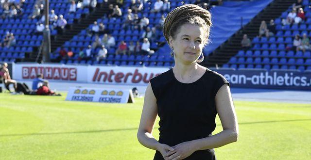 Amanda Lind.  Anders Wiklund/TT / TT NYHETSBYRÅN
