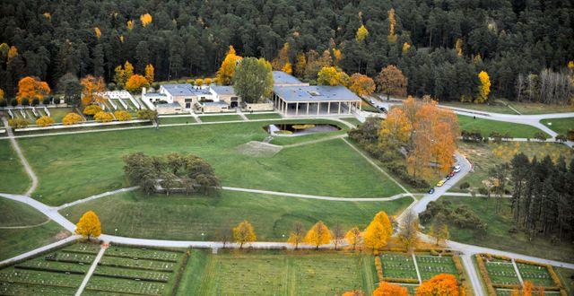 I Skogskyrkogården är antalet urnor ovan mark som högst. Bertil Ericson / TT / TT NYHETSBYRÅN