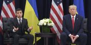 Volodymyr Zelenskyj och Donald Trump. SAUL LOEB / AFP