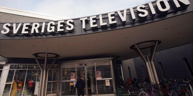 SVT-huset i Stockholm. Fredrik Sandberg / TT / TT NYHETSBYRÅN
