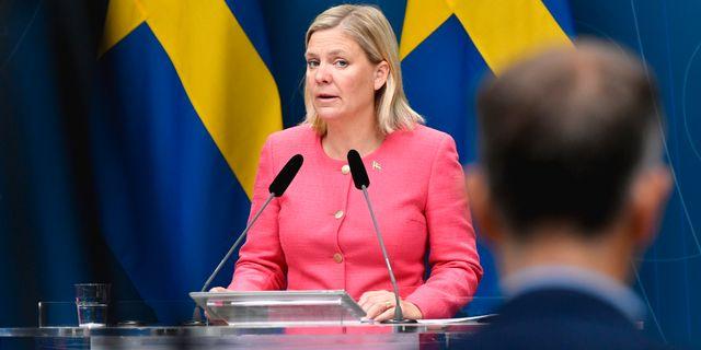 Finansminister Magdalena Andersson (S)/Arkivbild. Henrik Montgomery/TT / TT NYHETSBYRÅN