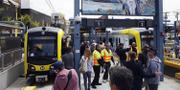 Nya tunnelbanelinjen i Los Angeles tar dig från stranden till downtown på 45 minuter. Getty