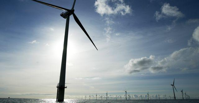 Annan modell av turbiner. Arkivbild. Lars Skaaning / TT NYHETSBYRÅN