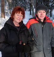 Lena och Lennart Molin. TT