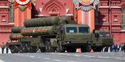 EN S-400-enhet under en uppvisning i Moskva. Alexander Zemlianichenko / TT NYHETSBYRÅN
