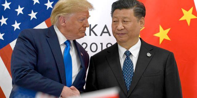 Arkivbild: Trump och Xi Susan Walsh / TT NYHETSBYRÅN