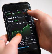 Handel i Investor, februari 2021. Henrik Montgomery/TT / TT NYHETSBYRÅN
