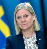 Magdalena Andersson.  Pontus Lundahl/TT / TT NYHETSBYRÅN