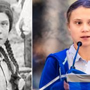 Flickan i Klondyke/Greta Thunberg. University of Washington/TT
