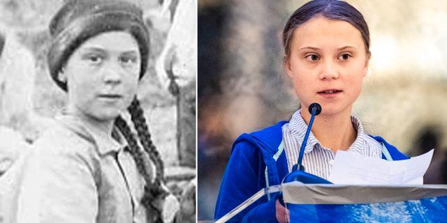 Flickan i Klondyke/Greta Thunberg. University of Washington/TT