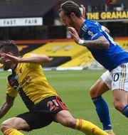 Kö inför fotbollsmatch/arkivbild från match mellan Watford och Leicester.  TT