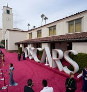 Galan sändes från Los Angeles. Mark Terrill / TT NYHETSBYRÅN
