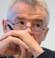 Arkivbild: Ryanairs vd Michael O'Leary.  JOHANNA GERON / TT NYHETSBYRÅN