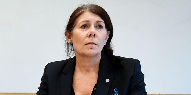 Ulla Gustavsson.  Jessica Gow/TT / TT NYHETSBYRÅN
