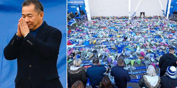 34b1ae93b3d4 Bekräftat: Leicesters ägare död i helikopterkrasch - Omni