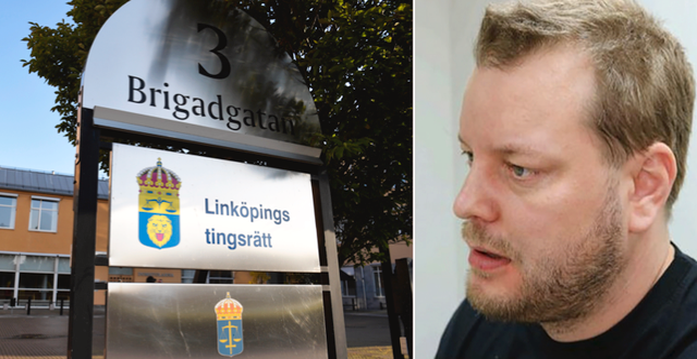Daniel Nyqvist dömdes i Linköpings tingsrätt. TT