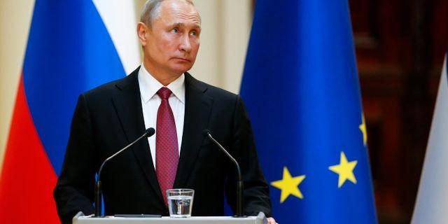 Vladimir Putin POOL / TT NYHETSBYRÅN