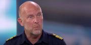 Skärmavbild från SVT. NOA-chefen  SVT