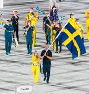 Ryttaren Sara Algotsson Ostholt och seglaren Max Salminen. DANIEL STILLER / BILDBYRÅN