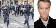 Tomas Oneborg/En av hans bilder från Drottninggatan i Stockholm. Tomas Oneborg/SvD