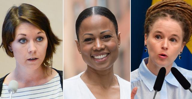 Maria Ferm, Alice Bah Kuhnke och Amanda Lind är tre namn som pekas ut som möjliga efterträdare.  TT
