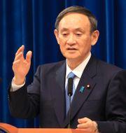 Japans premiärminister Yoshihide Suga.  Yoshikazu Tsuno / TT NYHETSBYRÅN