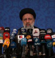 Irans nyvalde president, Ebrahim Raisi. Vahid Salemi / TT NYHETSBYRÅN