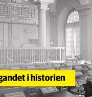Gamla Börshuset i Stockholm.  Bild ur Ericssons historiska arkiv hos Centrum för Näringslivshistoria