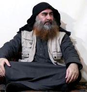 Abu Bakr al-Baghdadi. Reuters TV / TT NYHETSBYRÅN