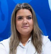 MUF:s ordförande Matilda Ekeblad och SSU:s förbundssekreterare Diyar Cicek.  TT