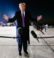 Donald Trump. Arkivbild. Evan Vucci / TT NYHETSBYRÅN