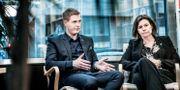 Miljöpartiets språkrör Gustav Fridolin och Isabella Lövin Tomas Oneborg/SvD/TT / TT NYHETSBYRÅN