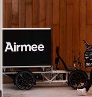 Julian Lee, medgrundare av Airmee.  Airmee