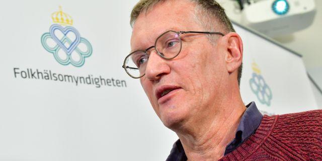 Anders Tegnell. Jonas Ekströmer/TT / TT NYHETSBYRÅN