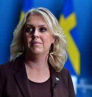 Lena Hallengren (S). Jonas Ekstromer / TT NYHETSBYRÅN