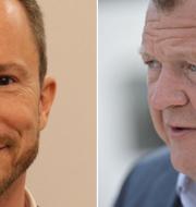 Jakob Ellemann-Jensen/Lars Løkke Rasmussen. Wikimeda Commons/TT Nyhetsbyrån.