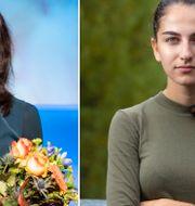 Nyamko Sabuni/Romina Pourmokhtari. TT/Willhelm Sundman