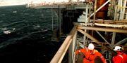 Arkiv, gasplattformen Troll A i Nordsjön utanför norska Bergen. PONTUS LUNDAHL