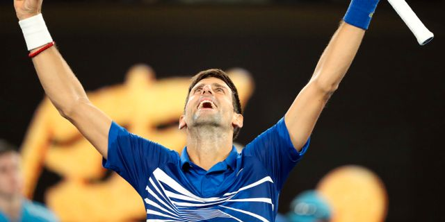 Novak Djokovic.  LUCY NICHOLSON / BILDBYR N