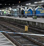 Centralstationen i Lund där olyckan inträffade. Johan Nilsson/TT / TT NYHETSBYRÅN