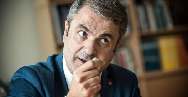 Ibrahim Baylan. Malin Hoelstad/SvD/TT / TT NYHETSBYRÅN