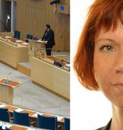 Arkivbilder: Riksdagen, Margareta Larsson. TT