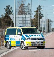 En polisbuss i Örebro. Kicki Nilsson/TT / TT NYHETSBYRÅN