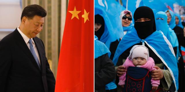 Xi Jinping och uigurer. TT